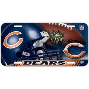NFL Chicago Bears High Definition License Plate *SALE