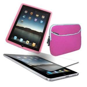 Apple iPad   Anti Glare SCPR + 10.2 inch Laptop Dual Pocket Carrying