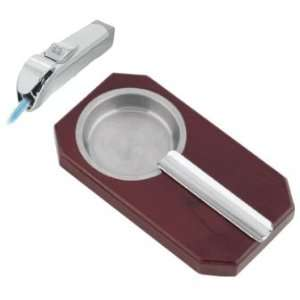 Visol Neo and Dipper Lighter & Ashtray Gift Set