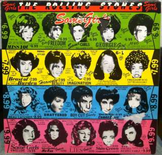 rolling stones some girls label rolling stones records format 33 rpm