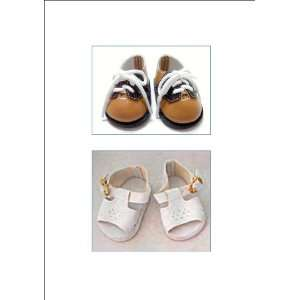 Diamond Design Sandals. Fit 18 Dolls like American Girl® Everything