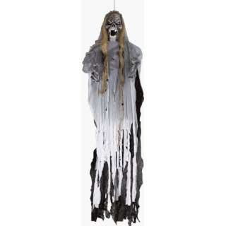 Life Size Scary Hanging Ghoul Halloween Prop
