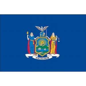 Spectrapro Polyester New York State Flag Patio, Lawn & Garden
