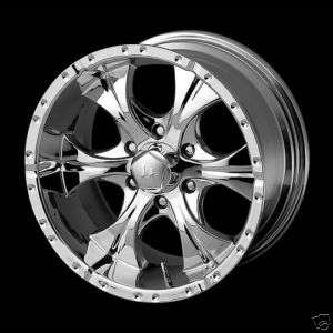 18 HELO MAX 6 HE791 CUSTOM CHROME WHEELS TRK/ SUV 18x9