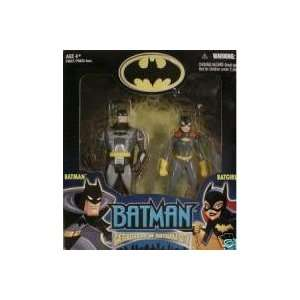 Gate Keepers of Gotham City Batman and Batgirl 2 Pack of