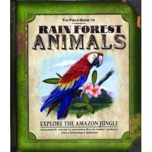Rain Forest Animals (Field Guides) [Hardcover] Nancy Honovich Books