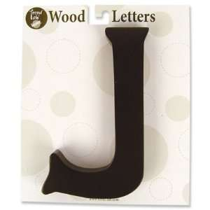 Nursery Baby Decorative Wooden Letter J Baby