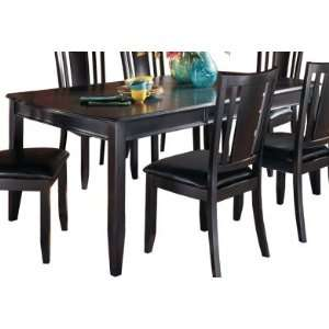 Contemporary Dining Black Extension Table