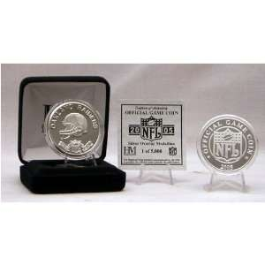 Oakland Raiders NFL Team Game Day Coin