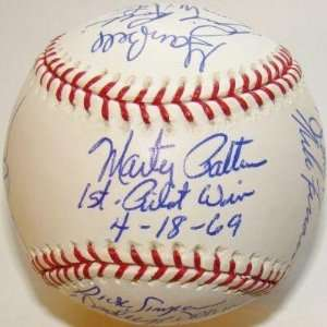 1969 Seattle Pilots Team 15 SIGNED MLB Baseball PSA/DNA   Autographed