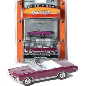 Greenlight MCG   1967 Pontiac GTO Convertible (Plum