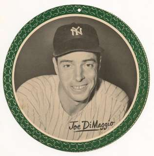 1950 ALL STAR PIN UP JOE DIMAGGIO