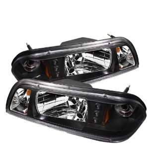 Spyder Auto Ford Mustang Black LED Crystal Headlight