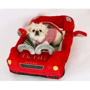 Dog Bed   Red Furrari Sportscar Dog Bed   32 x 18 Pet