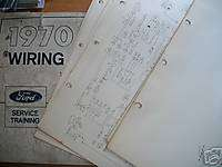 BRONCO ECONOLINE OEM WIRING DIAGRAMS SCHEMATICS MANUAL ORIGINAL