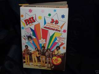 1970 MICHAEL JACKSON 5 CEREAL BOX 3D CARD PREMIUM FIVE