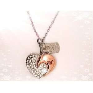 Shape Crystal Jewelry USB Flash Memory Drive necklace Electronics