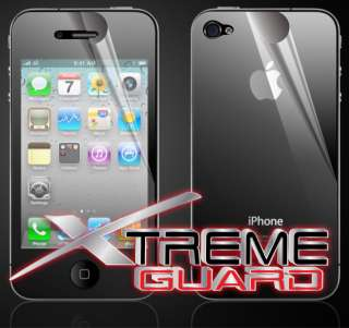 iPhone 4S FULL BODY Invisible LCD Screen Protector Case Shield