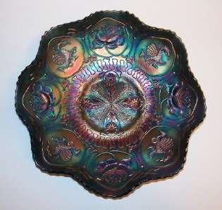 Dragon & Lotus by Fenton   Carnival Glass Bowl