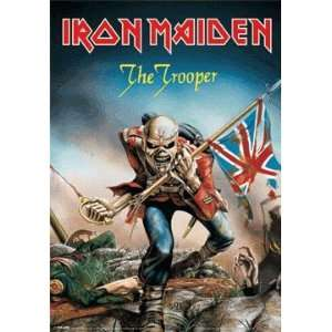 3D Posters Iron Maiden   The Trooper   26.1x18.3 inches