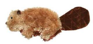 Kong Large Plush BEAVER Dog Toy 763034910089