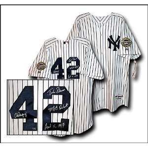 Alex Rodriguez Signed Uniform   Authentic with JACKIE