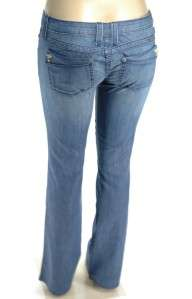 Frankie b Lite Weight Trouser Style Lightly Kissed Bleach Denim Jeans