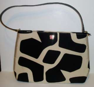 AUTHENTIC KATE SPADE PURSE SHOULDER BAG BLACK/CREAM