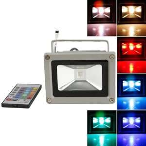 RGB LED Flood Light Landscape Lamp + Remote Control