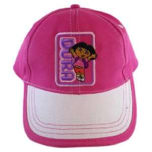 Girls   Nickelodeon Dora The Explorer Kids Cap (Pink) Toys & Games