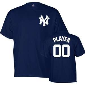 New York Yankees  Any Player  Name and Number T Shirt