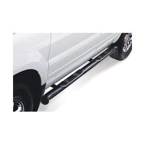 Westin 26 2255 Platinum Series Round Nerf Bars   Black, for the 2003