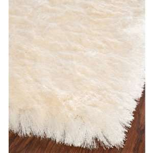 Safavieh Shag Collection SG511 1212 Ivory Shag Area Rug, 3 Feet by 5