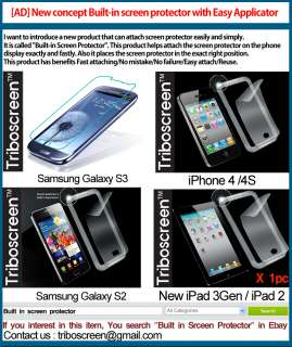 Built in Anti scratch screen protector Samsung Galaxy S2 /i9100 /SGP