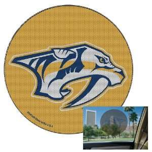 PREDATORS OFFICIAL LOGO 8 PERFORATED WINDOW DECAL