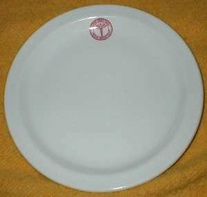 ARMY MEDICAL DEPARTMENT STERLING VITRIFIED PLATE