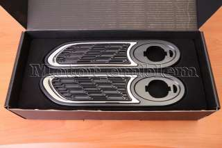 R50 R52 R53 MINI COOPER S ONE JCW Black Mesh Side Lamp Scuttle Cover