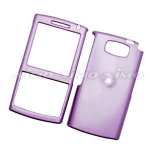 on Protector Hard Case Solid Cover Shiny Light Purple