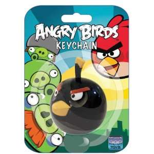 Angry Birds Keychain Black Bird Toys & Games
