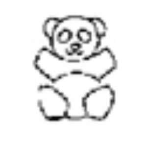 Design Stamp, Whimsical, Teddy Bear Arts, Crafts & Sewing