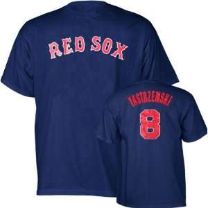 Player Name and Number Boston Red Sox Youth T Shirt
