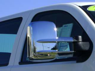 1999 2011 CHEVY SILVERADO CHROME TOWING MIRROR COVERS