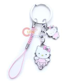 Sanrio Hello Kitty Key Chain Cell Phone Holder Stand