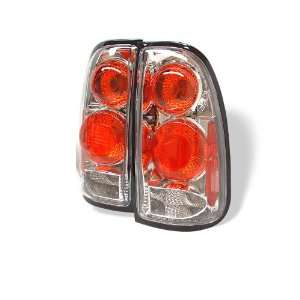 00 02 Toyota Tundra Euro Taillights   Chrome Automotive