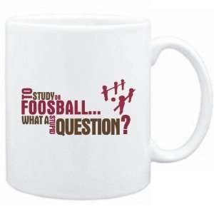 New  To Study Or Foosball  What A Stupid Question ?  Mug Sports