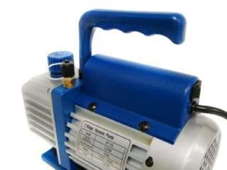 CFM Single Stage Rotary Vane Vacuum Pump R410a R134 HVAC A/C Air
