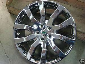 20 Range Rover Sport CHROME OEM ALLOY WHEELS EXCHANGE
