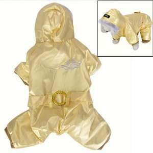 Pet Dog Hoodie Hooded Winter Coat Jump Suit   Size S Pet