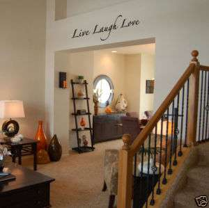 WALL DECALS   Live Laugh Love   lettering wall stickers