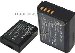 LP E10 Battery for Canon Camera EOS 1100D Rebel T3 Kiss X50 LPE10 7.4V